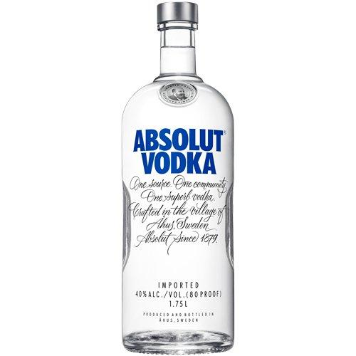 Absolut Vodka 80 Proof 1.75L