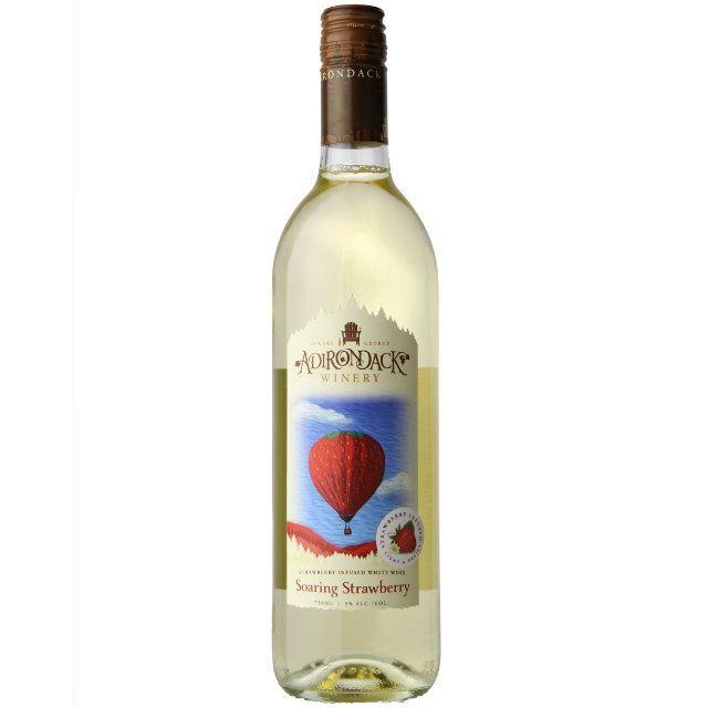 Adirondack Winery Soaring Strawberry 750ml NV