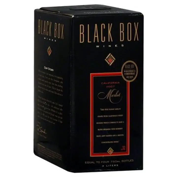Black Box Merlot 3L Box NV