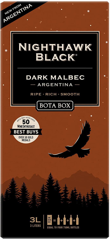 Bota Box Nighthawk Malbec 3L NV