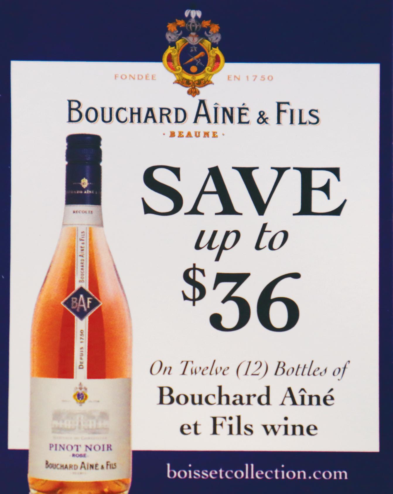 Bouchard Aine et Fils Wine