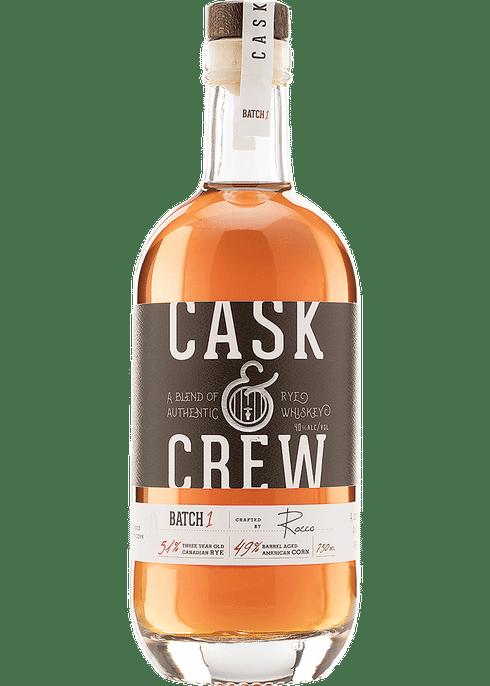 Cask & Crew Rye Whiskey 750ml