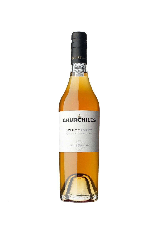 Churchills Dry White Port 500ml