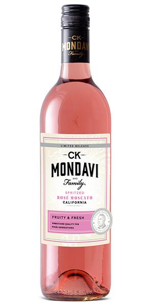 CK Mondavi Spritz Rose Moscato 750ml NV