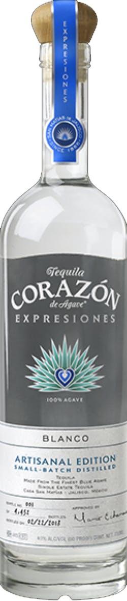 Corazon Expressiones Artisanal Blanco Tequila 750ml