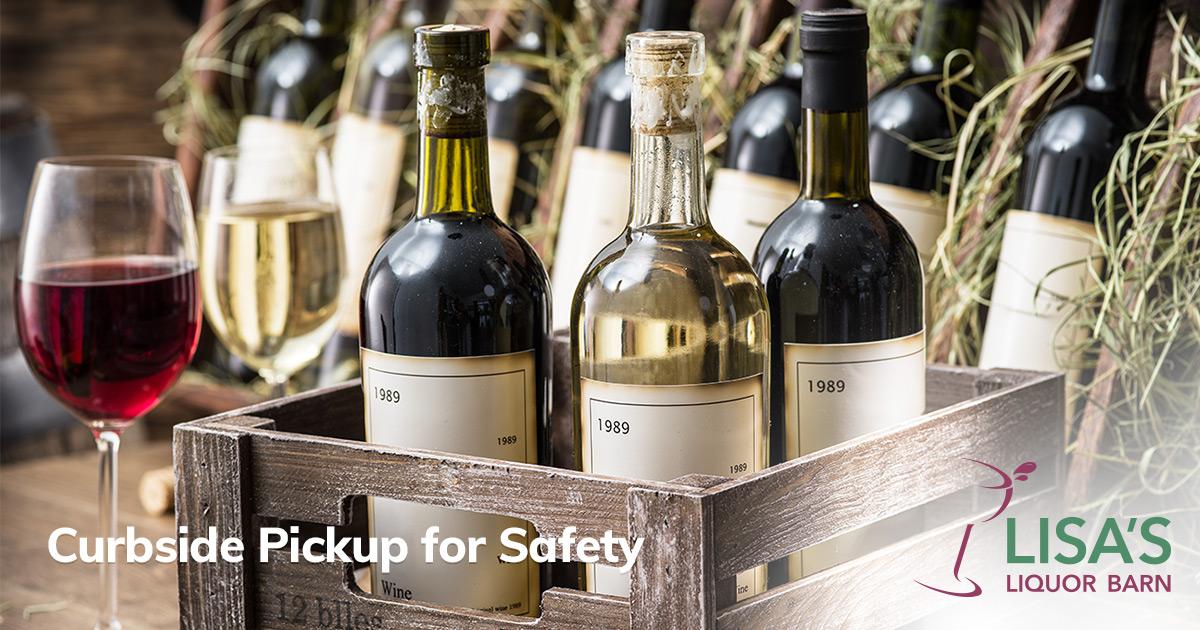 Curbside liquor & wine pick up