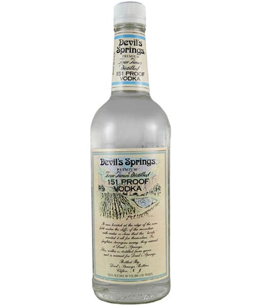 Devil's Springs Vodka 151 Proof 1L