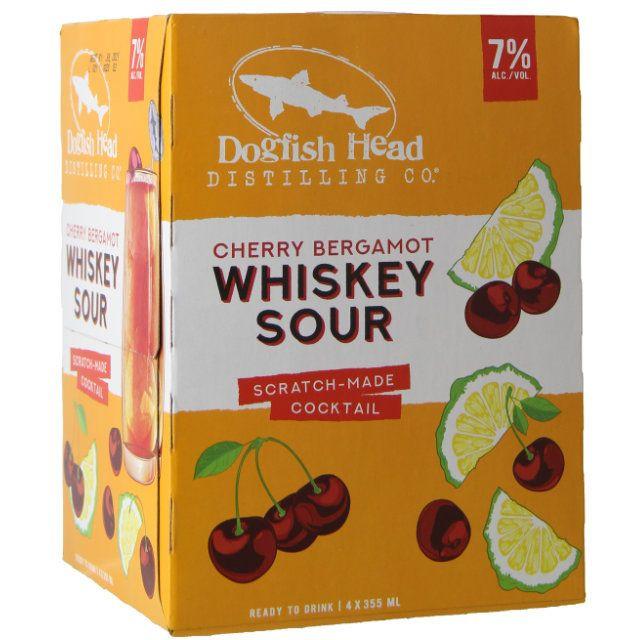 Dogfish Head Cherry Bergamot Whiskey Sour 4Pk-355ml Cans