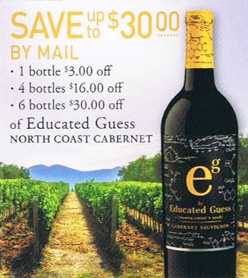Educated Guess North Coast Cabernet