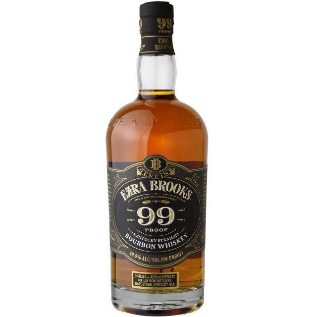 Ezra Brooks 99Proof Bourbon Whiskey 750ml