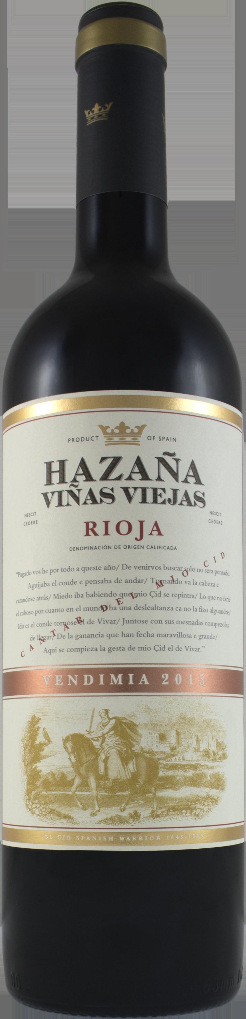 2017 Hazana Vinas Viejas Rioja 750ml