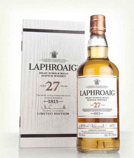 Laphroaig 27Yr 83.4Pf Single Malt Scotch Whisky 750ml