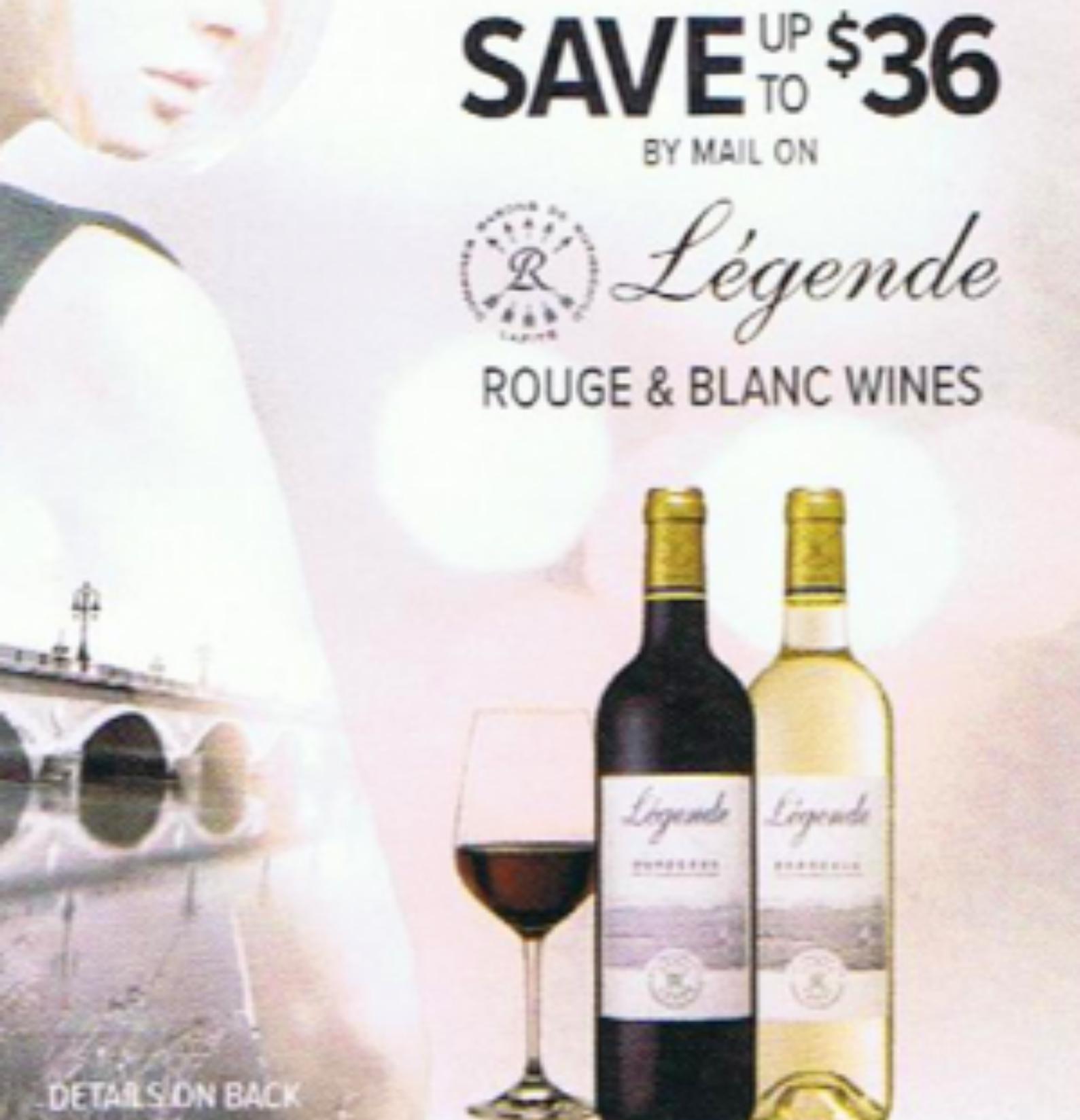 Legende Rouge & Blanc Wines
