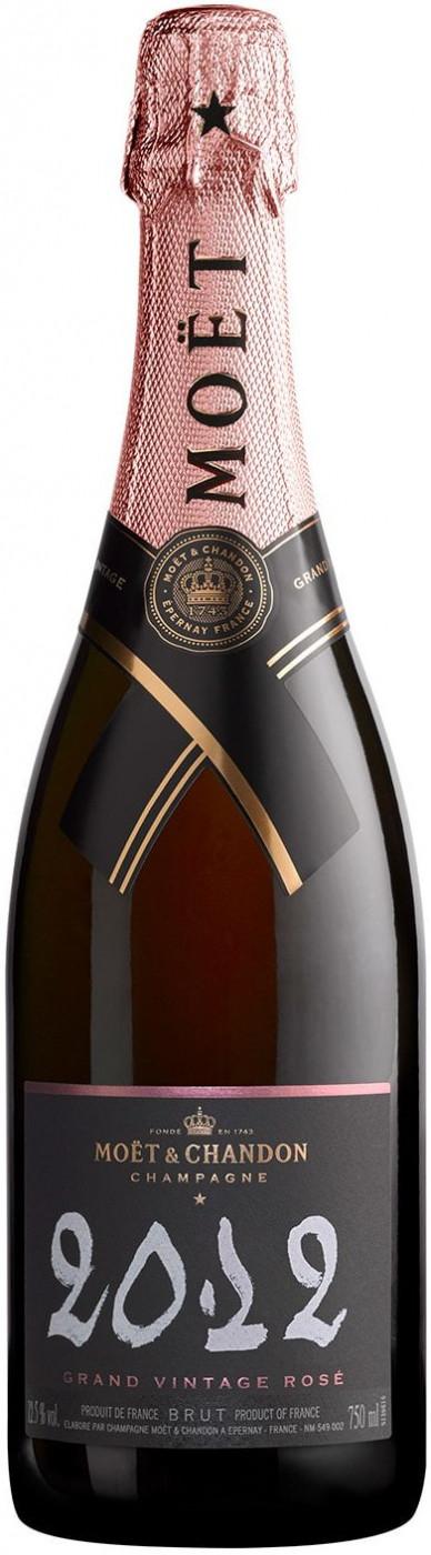 2012 Moet & Chandon Rose Grand Vintage 750ml