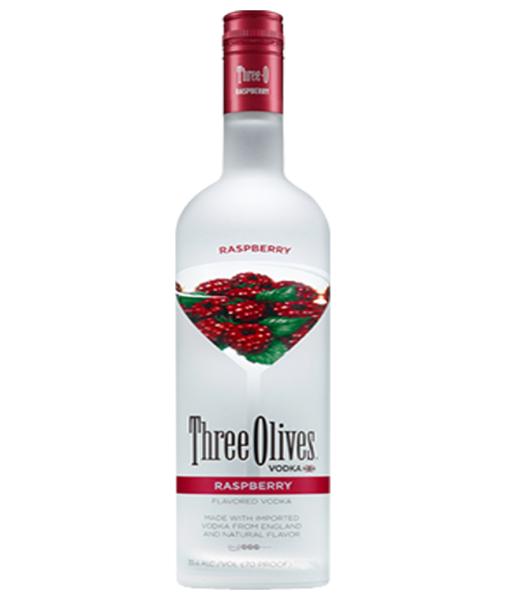 Three Olives Raspberry Vodka 1L