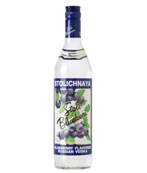 Stolichnaya Blueberi Vodka 1L