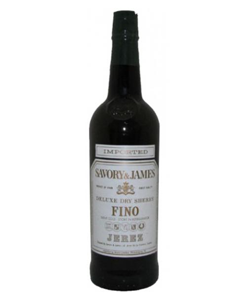 Savory & James Fino Sherry 750ml NV