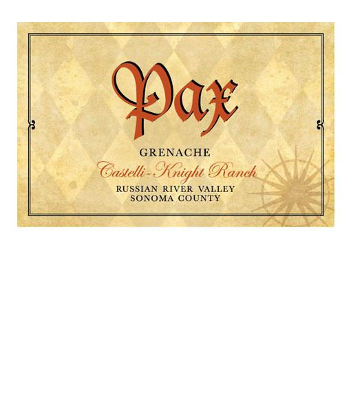 2012 Pax Grenache Castelli-Knight Ranch 750ml