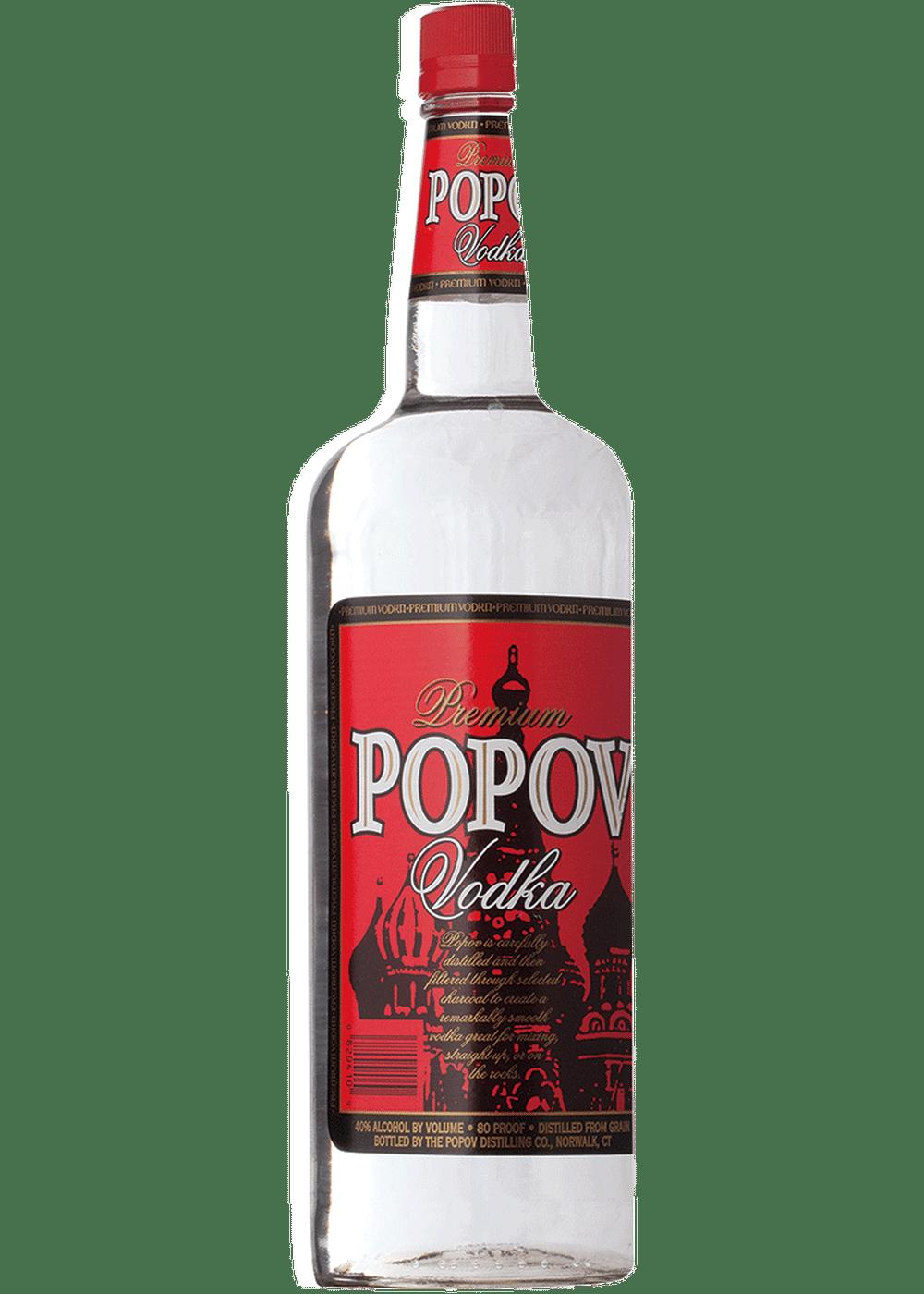 Popov Vodka 750ml