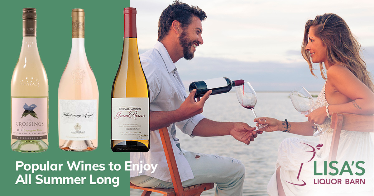 Popular Wines Perfect for Enjoying All Summer Long