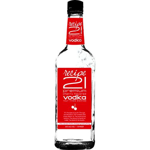 Recipe 21 Cherry Vodka 1L
