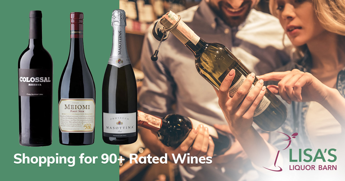 Shopping for 90-Plus Rated Wines in Rochester NY