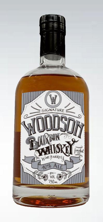 Woodson Bourbon Whiskey 750ml