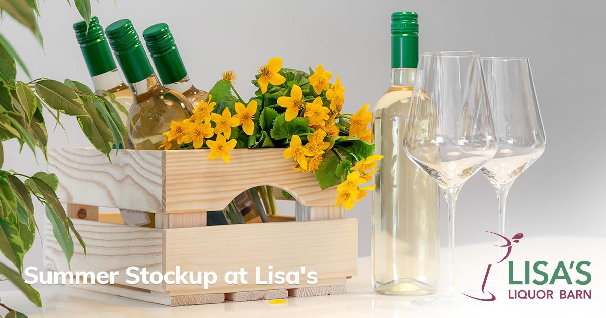 Stocking Up for Summer at Lisa's Liquor Barn