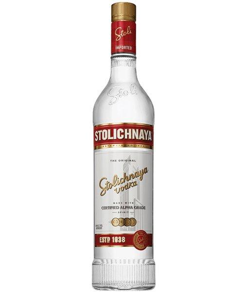 Stolichnaya Vodka 80 Proof 1L