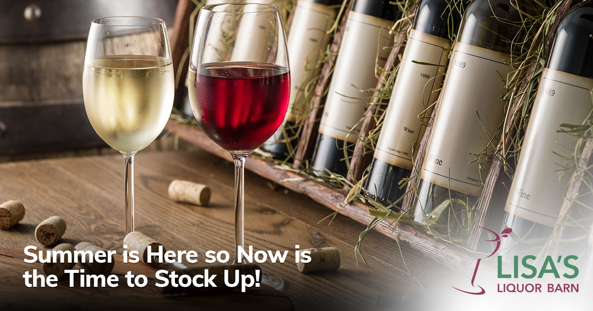 Stock Up on Your Summer Favorite's at Lisa's Liquor Barn