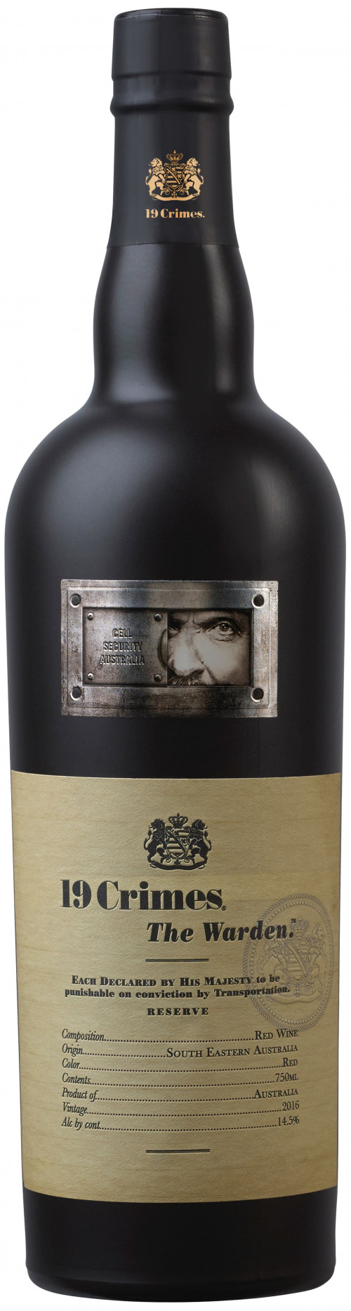 2018 19 Crimes The Warden Red 750ml