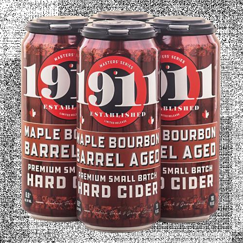 1911 Maple Bourbon Barrel Aged Hard Cider 4Pk-16oz. Cans