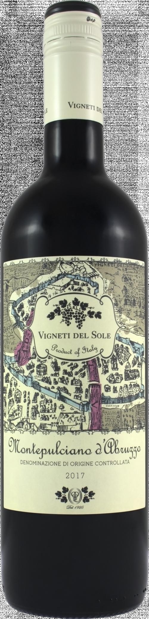 2019 Vigneti Del Sole Montepulciano 750ml