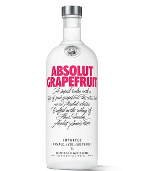 Absolut Grapefruit Vodka 1L