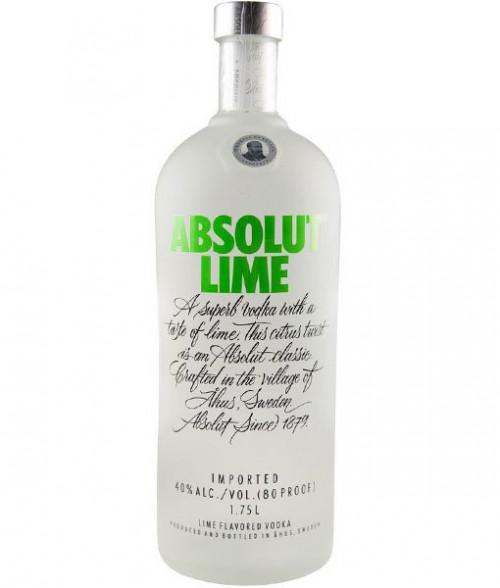 Absolut Lime Vodka 1.75L