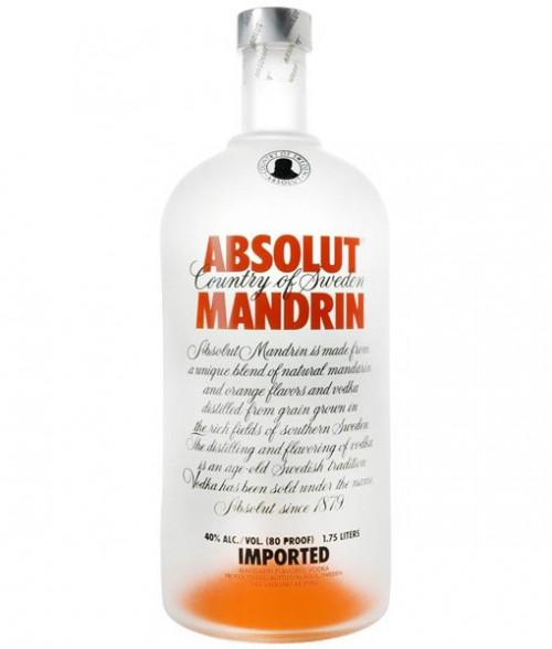 Absolut Mandarin Vodka 1.75L