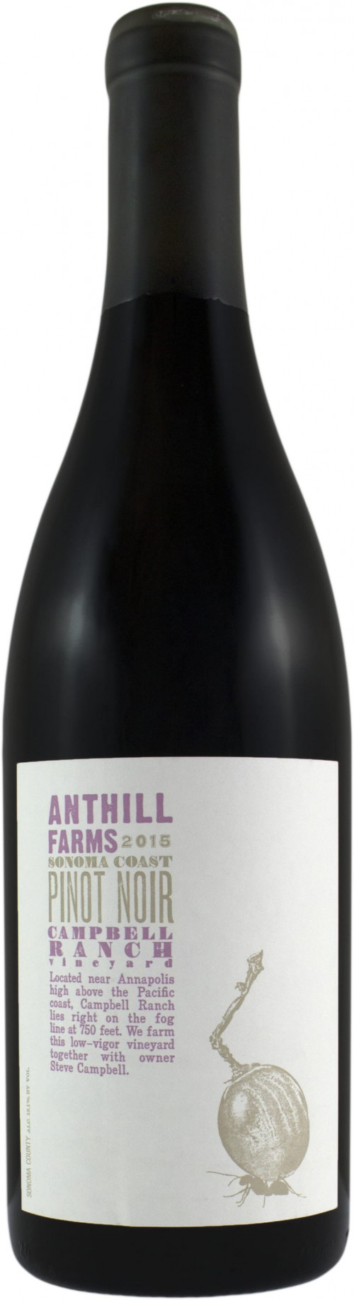 2015 Anthill Farms Campbell Ranch Pinot Noir 750ml