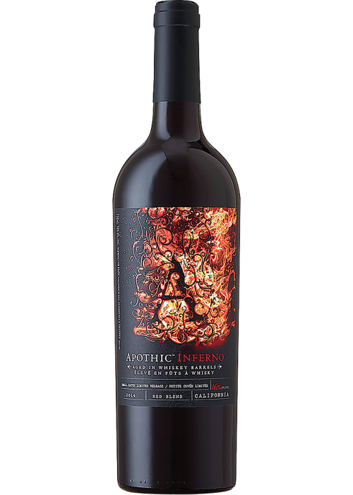 Apothic Inferno Whiskey Barrel Aged Red Wine 750ml NV