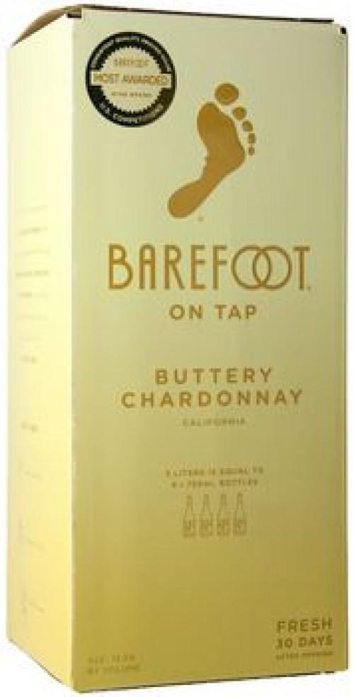 Barefoot Cellars Buttery Chardonnay 3L Box NV