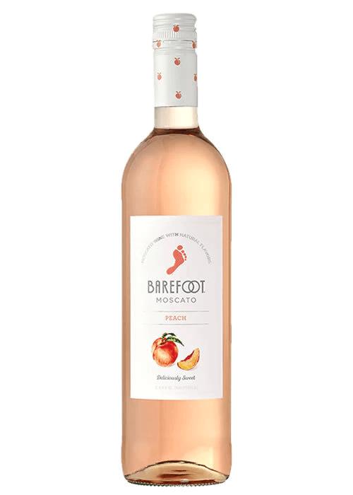 Barefoot Peach Moscato 750ml NV