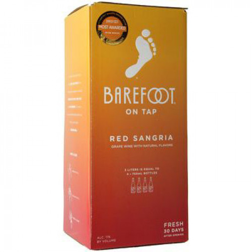 Barefoot Cellars Red Sangria 3L Box NV