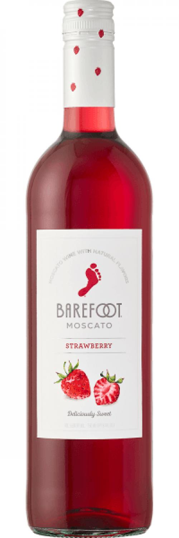 Barefoot Strawberry Moscato 750ml NV