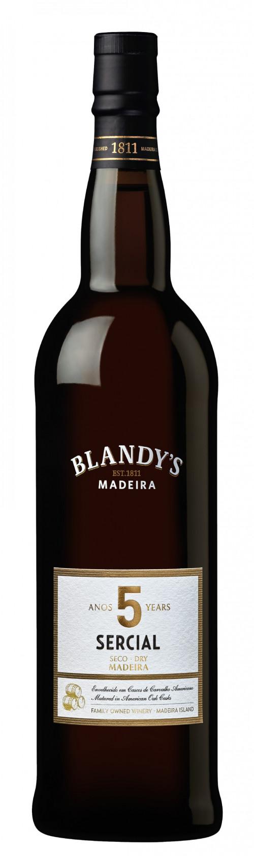 Blandys 5 Yr Sercial Madeira 750ml NV