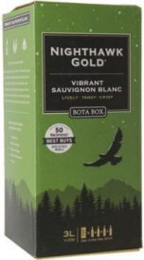 Bota Box Nighthawk Gold Sauvignon Blanc 3L NV