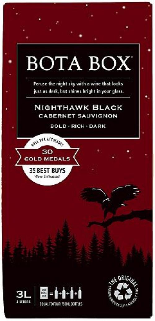 Bota Box Nighthawk Cabernet Sauvignon 3L NV