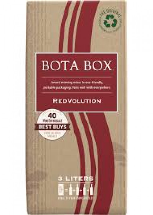 Bota Box Redvolution Red Blend 3L NV