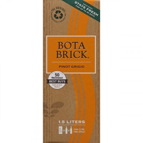 Bota Brick Pinot Grigio 1.5L Box NV
