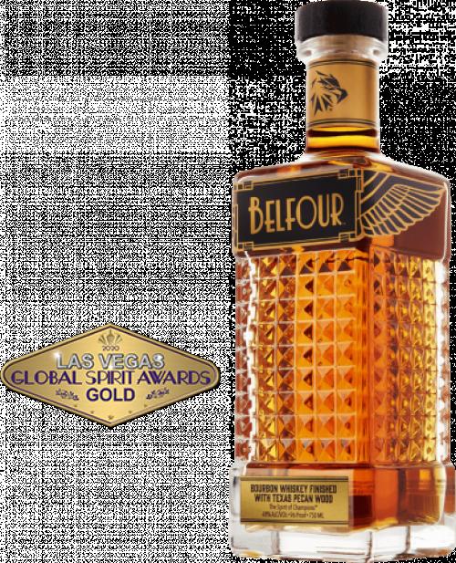 Belfour Pecan Bourbon Whiskey 750ml