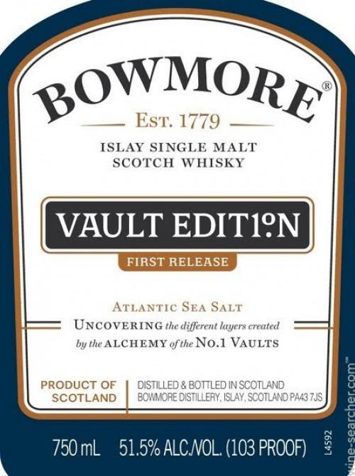 Bowmore Vaulted Edition #1 Single Malt Scotch 750ml