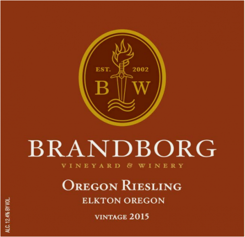 Brandborg Riesling 750ml